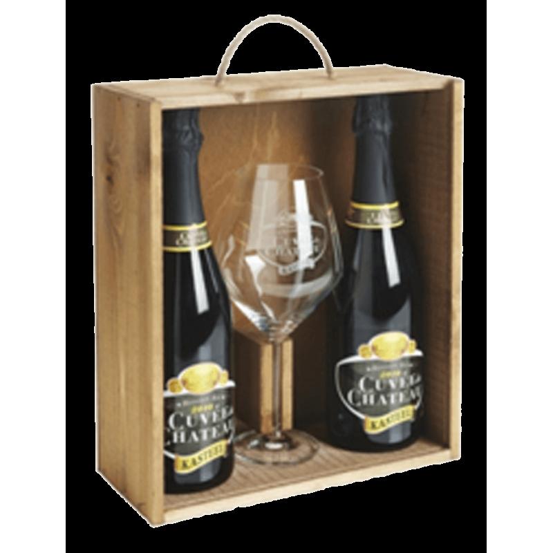 Cuvée de Chateau giftpack - Bierhuis.cz