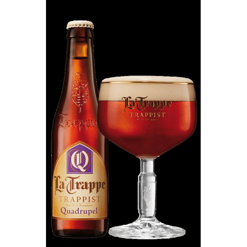 La Trape Quadrupel - Bierhuis.cz